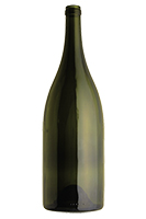 1.5L Premium Heavy Burgundy wine bottle, Antique Green - SPI-1256 AG