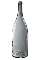 1.5L Premium Heavy Burgundy wine bottle, Flint - SPI-1256 FL
