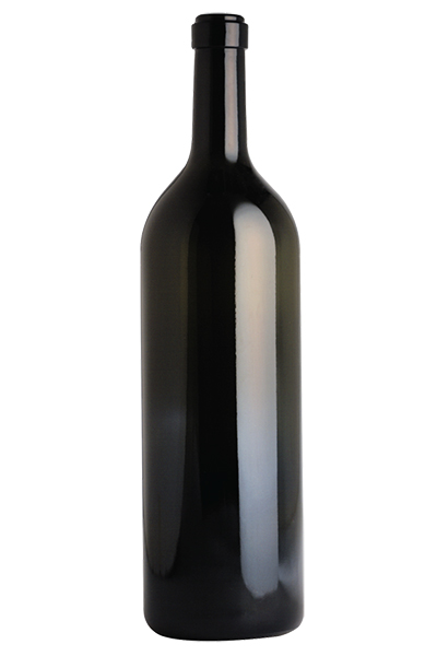 3L Claret/Bordeaux wine bottle, Antique Green - SPI-508 AG