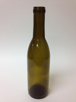 375ml Burgundy bottle, Antique Green - SPC-12375A
