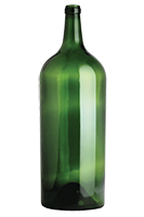 6L Claret/Bordeaux wine bottle, Antique Green - SPI-503 AG